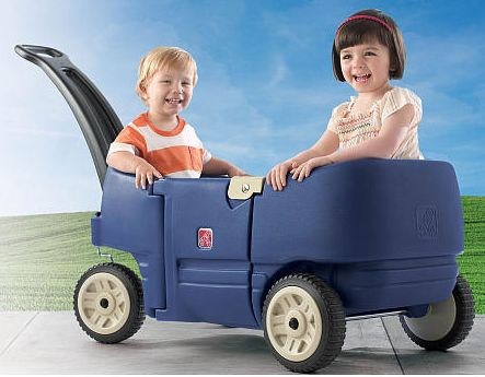 Step2 Wagon for Two Plus – Denim Only $49.99!