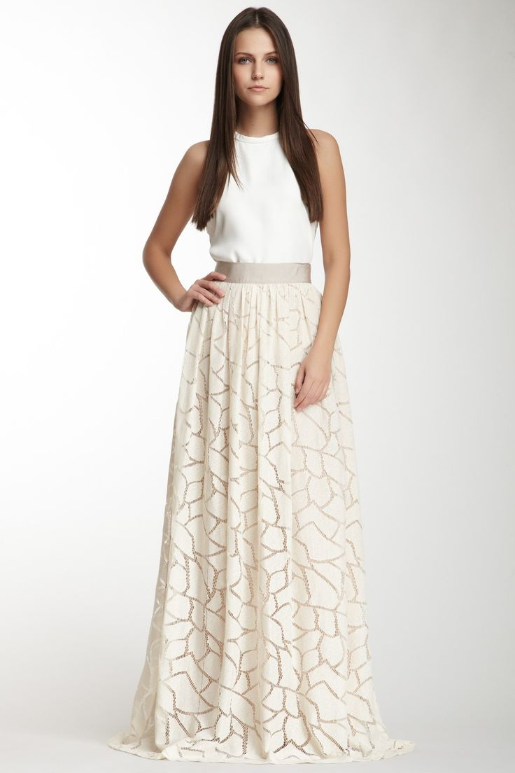Yigal Azrouel Lace Skirt on SALE for $179 from $995 - amazing look for a wedding reception!