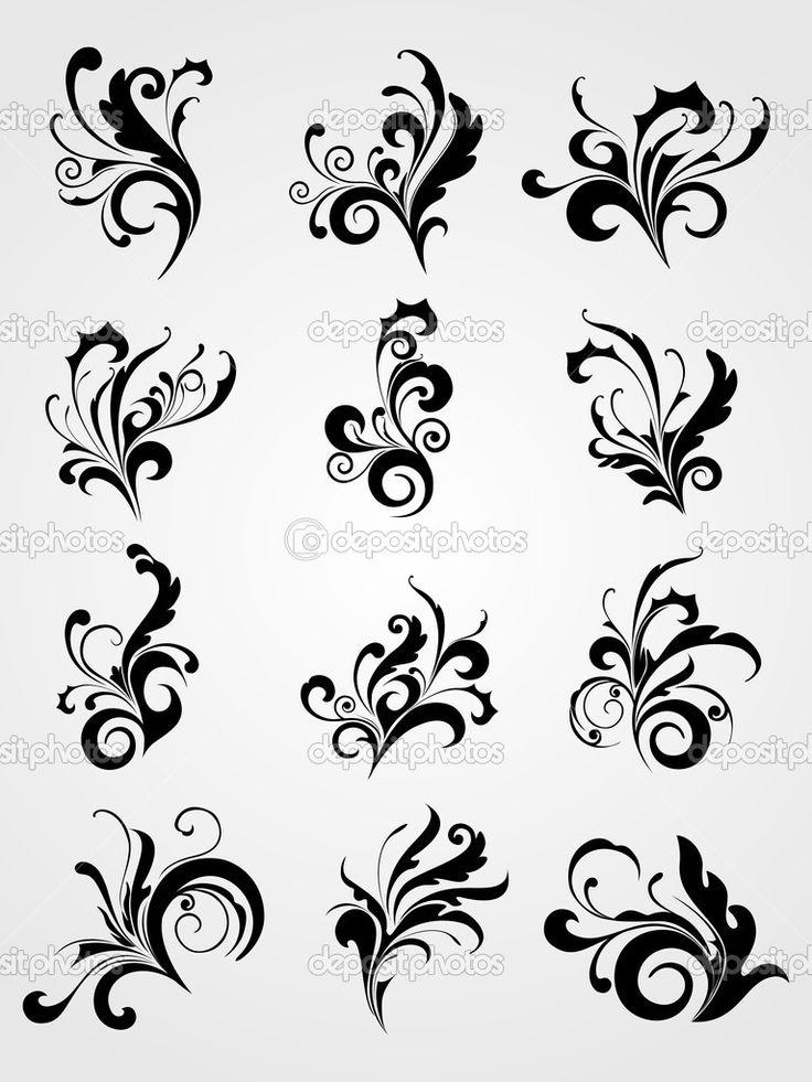 116 best images about victorian scrolls on pinterest scroll design digi stamps and stencils. Black Bedroom Furniture Sets. Home Design Ideas