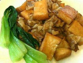 厚揚げと豚バラ肉のすき焼き風旨々煮♪ by ♪こみき♪ [クックパッド] 簡単おいしいみんなのレシピが260万品