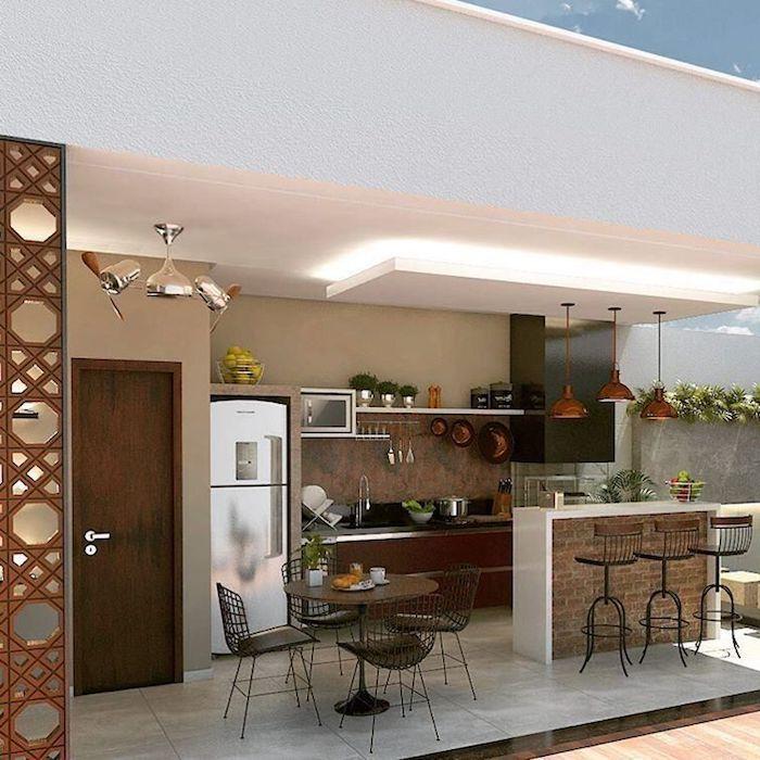 ▷ 1001 + Ideen und Bilder zum Thema Außenküche selber bauen – Karenucha Bel