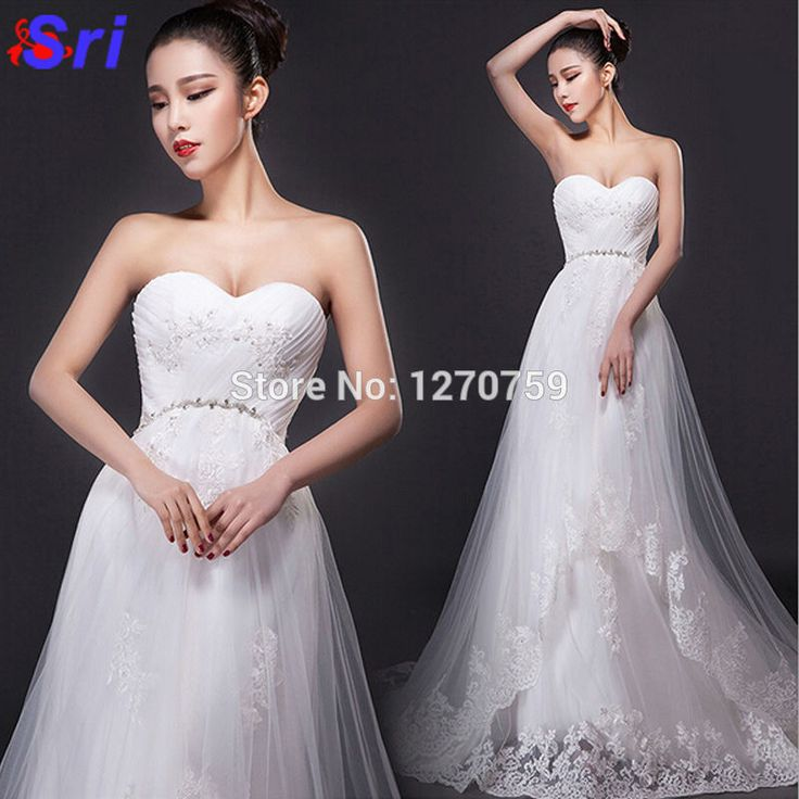Find More Dresses Information about Organza Wedding Dress With Crystal Strapless White Lace Wedding Dress Vintage Modest Wedding Dresses With Sleeves,High Quality dress 4,China dress pack Suppliers, Cheap dresses dress barn from Sritrade International Co., Ltd on Aliexpress.com