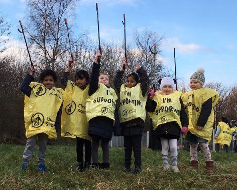 """Littlest Litter Pickers Launch Latest Phase Of """"Our Edinburgh"""""""