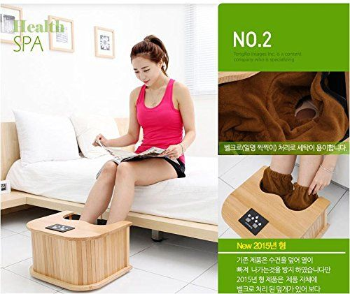 Goodfriend INNOF4 Farinfrared foot sauna Dry foot bath machine 220V Health Spa  therapy *** Locate the offer simply by clicking the image