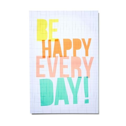 be Happy Canvas homemaker