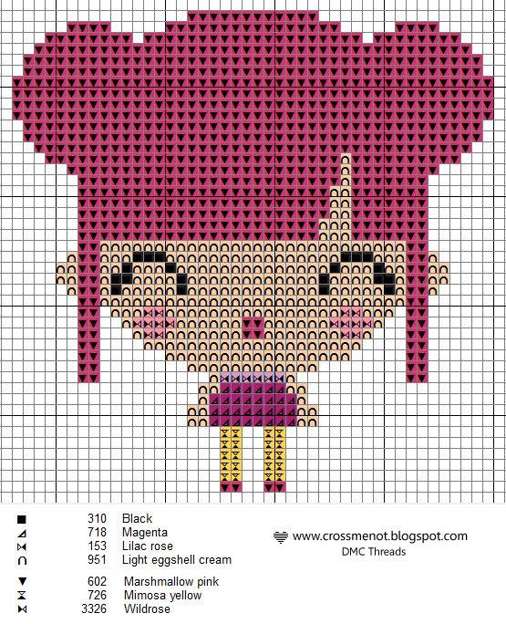 Cross me not: free cross-stitch patterns