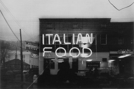 Lewis Baltz, Italian Food, 1976