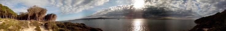 Panoramica Laguna San Giovanni Suergiu