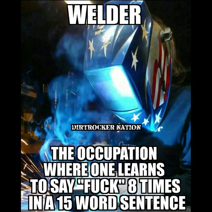 Welding is life