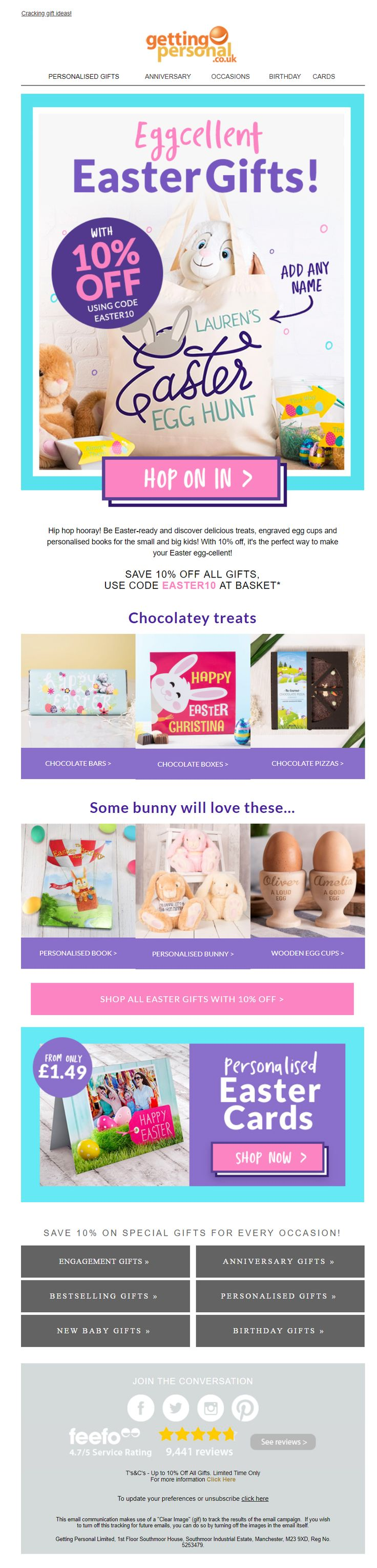 123 best easter emails images on pinterest easter email from getting personal emailmarketing email marketing gifts easter negle Gallery