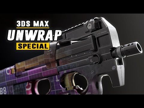 ArtStation - Unwrap Special - understanding the fundamentals of UV mapping - 3Ds Max 2017 , Tim Bergholz | ChamferZone