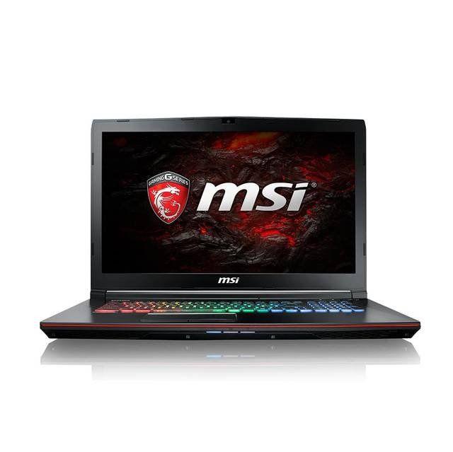 MSI GE72VR APACHE PRO-447 17.3 inch Intel Core i7-7700HQ 2.8GHz/ 16GB DDR4/ 1TB HDD/ GTX 1060/ DVD±RW/ USB3.1/ Windows 10 Notebook (Aluminum Black) (New Item!)