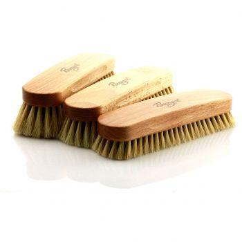 Burgol Rosshaarbürste Polierbürste in verschiedenen Haarlängen (ca. Größe 18cm x 4,7cm)
