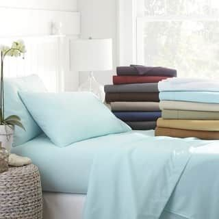 Becky Cameron Luxury Ultra Soft 4-piece Bed Sheet Set