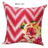 Mezzo Floral painted cushion cover MZ 264- 15C