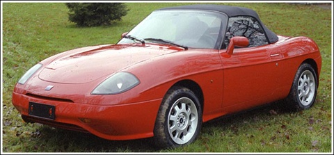 Fiat Barchetta Convertible (1995)