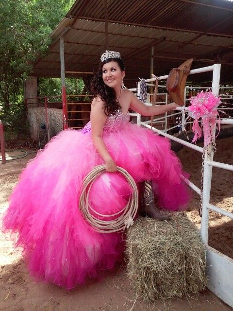 Country and Western style Quinceanera | Quinceanera ...