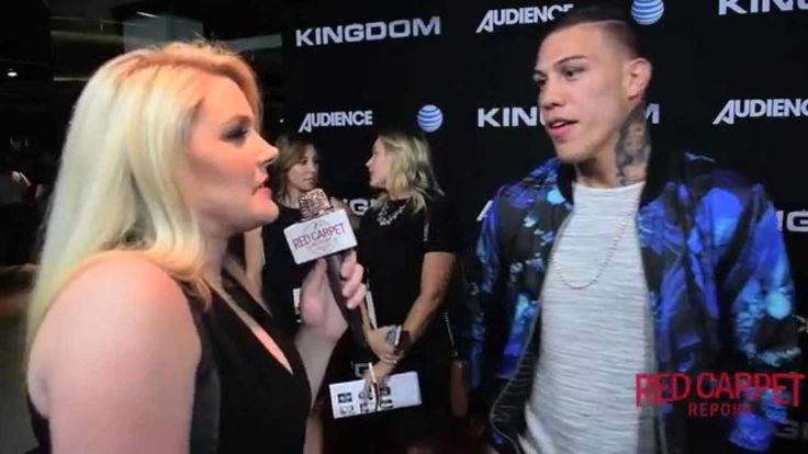 Who does Pro Fighter @KingGabRosado fight in this season of DIRECTV's #KingdomTV Season 2? Find out in our interview @KingdomDIRECTV Gabriel Rosado at DIRECTV's Kingdom Season 2 Premiere Event #KingdomTV #MMA
