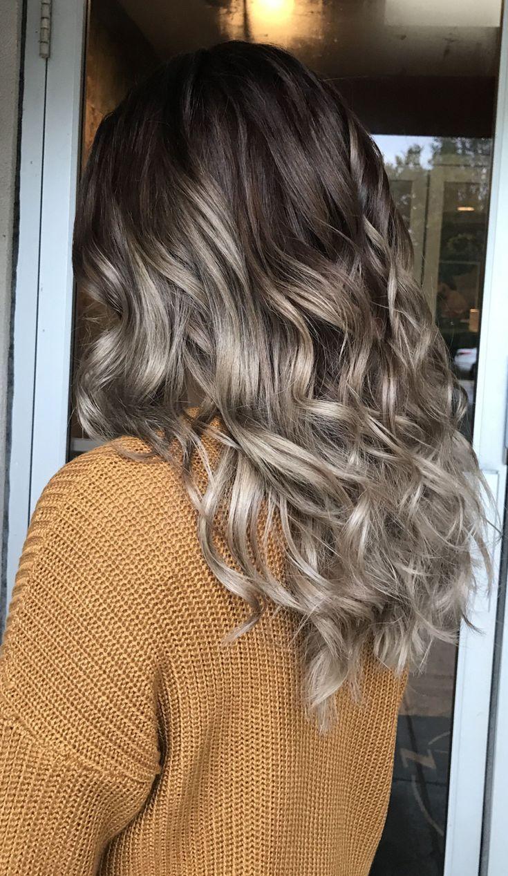 Haarfarben Trends 2019 Damen Mushroom Haare Farbverlauf