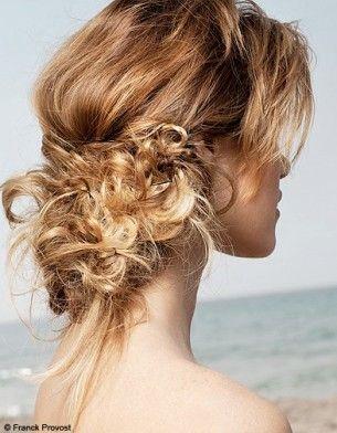 Inspiration coiffure chignon mariée flou | www.makeupartist.fr