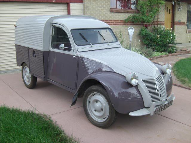 '55 Citroen Truckette 2CV | eBay Motors