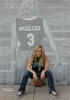 ideas for senior girl basketball pictures - Google Search
