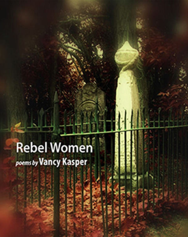Rebel Women - Vancy Kasper (April) This volume begins by moving in and out of women's kitchens, parlours, meetings and wagon-rides on the eve and throughout Toronto's 1837 Rebellion. The poems let the reader eavesdrop on the loves, fears, hatreds and courage of these feisty pioneers as they are engulfed by an uprising some did or did not support. The poems are based on the stories, gossip, and rumours that Kasper's grandmother shared with the poet when she was growing up. $18.95