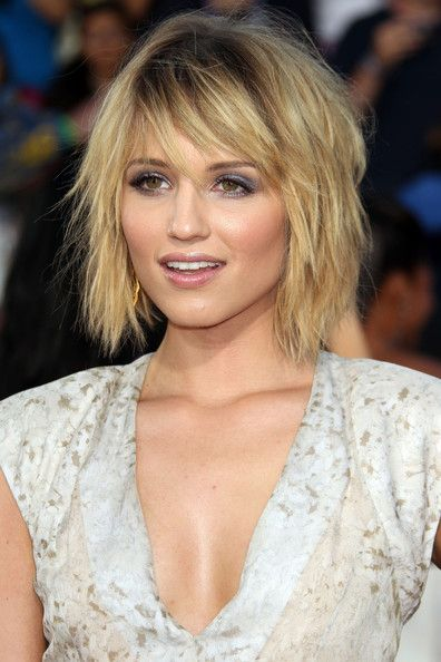 Dianna Agron...having hair lust! - I really like this cut - just maybe for me?