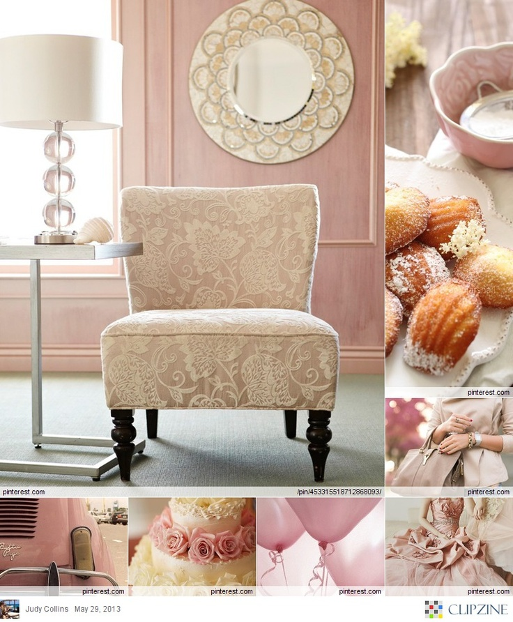 Charming Dusty Rose. Lovely Interior. Http://4mytmw.blogspot.com