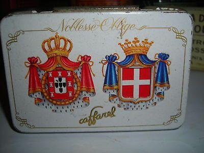 Scatola Latta Cremini Noblesse Oblige Caffarel Vintage