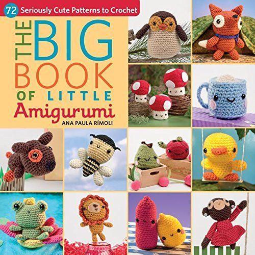 The Big Book of Little Amigurumi: 72 Seriously Cute Patterns to Crochet by Ana Paula Rimoli, http://www.amazon.com.au/dp/B00Q3J51S8/ref=cm_sw_r_pi_dp_.GhPwb0N8T77B