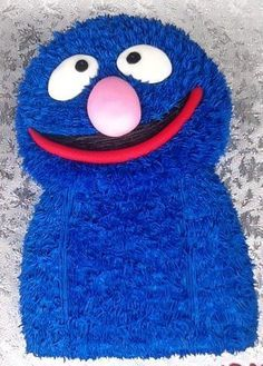 HOW TO MAKE A SUPER GROVER CAKE - Google Search