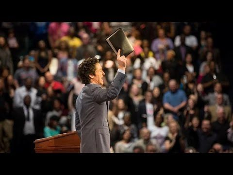 """Your Words Become Your Reality - Joel Osteen  Published on Jan 7, 2016  Did you know that your words are like seeds? In fact, you are where you are today because of what you've been saying about yourself.  That's why Joel created this powerful, eye-opening message to help you take a closer look at the words you are saying. Proverbs 18:21 says, """"The tongue can bring death or life."""" Learn how to reprogram your words with the life-giving power of God's Word and speak your God-given authority"""