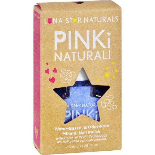 Lunastar Pinki Naturali Nail Polish - Little Rock (powder Blue)...