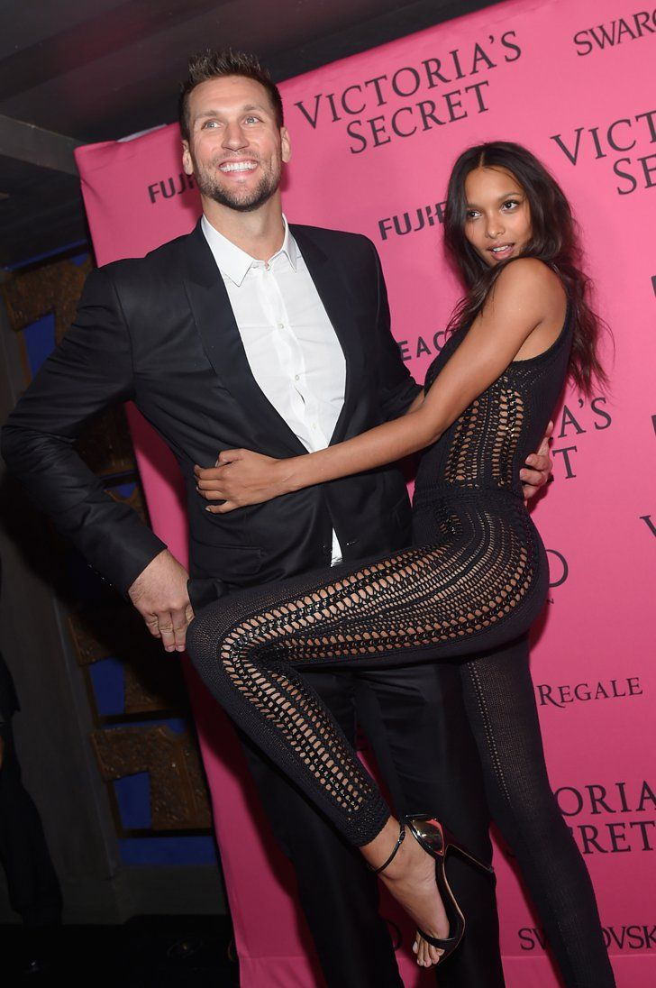 Pin for Later: Victoria's Secret a Organisé L'afterparty la Plus Sexy de L'année Jared Homan et Lais Ribeiro