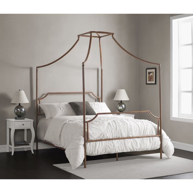 299 queen size canopy bed home goods free shipping on Canopy over bed