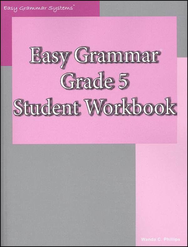 Easy Grammar Grade 5 Workbook