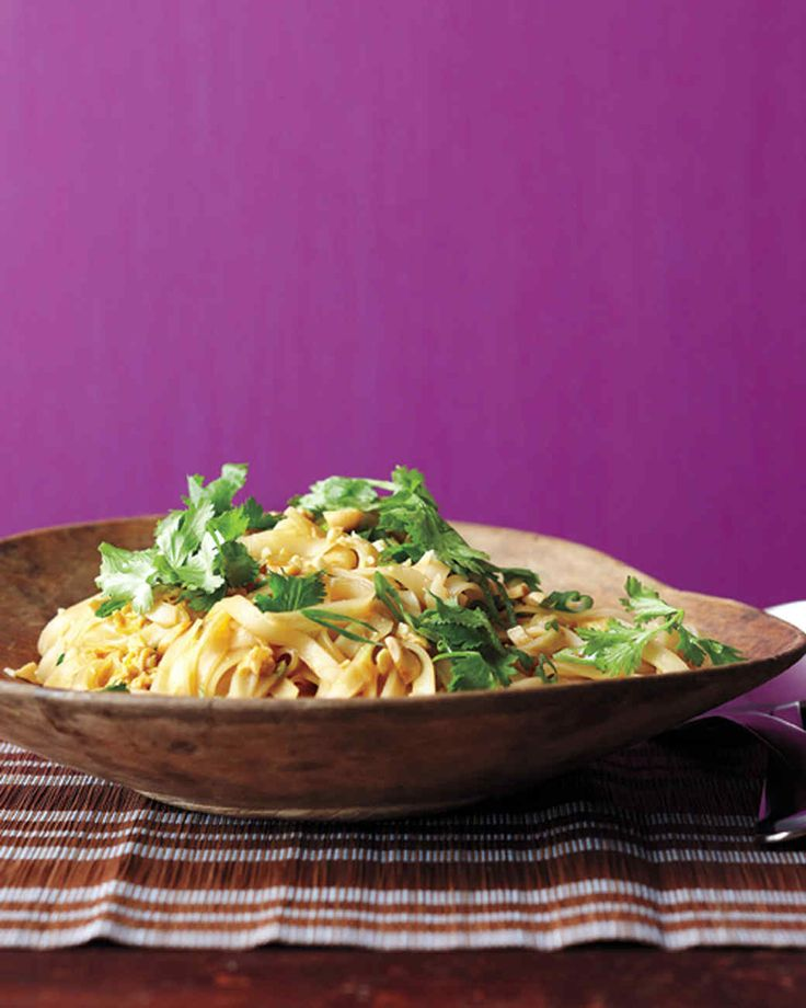 Vegetable Pad Thai - Any dried, flat rice noodles will work; find them in the Asian-foods section.