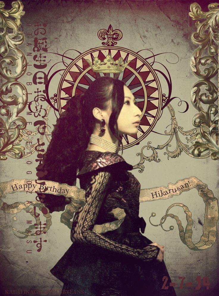 Kalafina Graphics by fans Hikaru