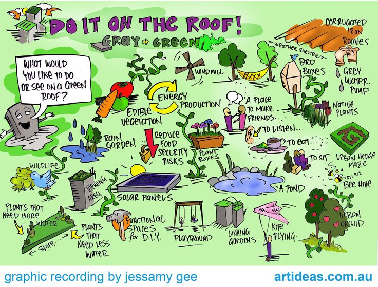 graphic recording | Graphic Recording – Do It On The Roof, Sustainable Living Festival ...