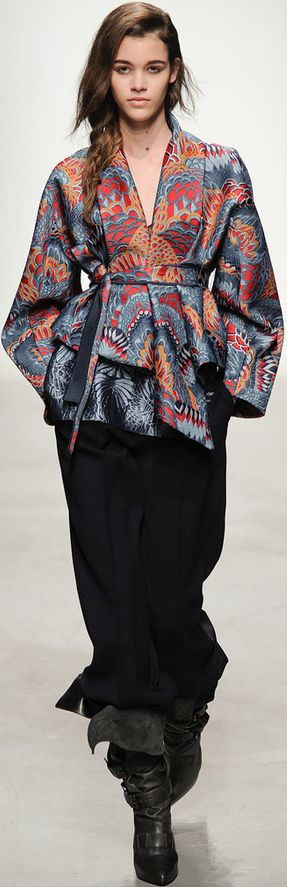 Leonard Fall 2014 Ready-to-Wear Fashion Show: Complete Collection