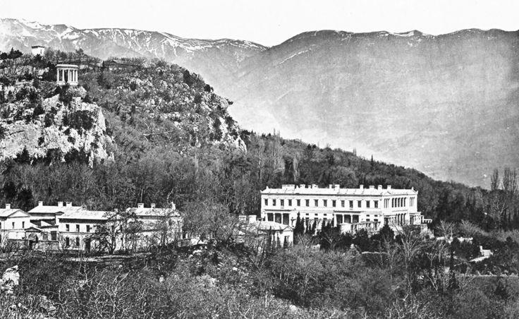 Дворец в Ореанде - первая резиденция Романовых в Крыму. Экскурсия. Ялта.
