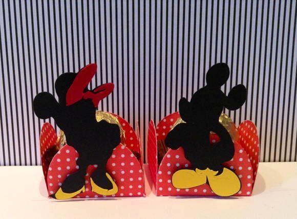 Forminha Da Festa Do Mickey E Minnie