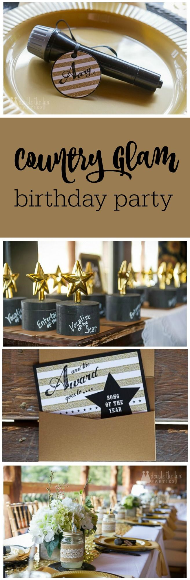 112 Best Country Glam Party Images On Pinterest Birthdays