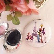 Paris Lila Makyaj Aynası