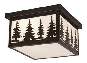 Big Sky Outdoor Flush Mount Ceiling Light -- for room off bedroom