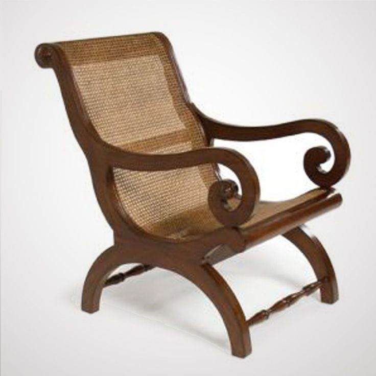 Phenomenal West Indies Cane Back Lounge Chair Colonial Furniture Short Links Chair Design For Home Short Linksinfo