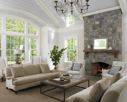 Huestis Tucker Architects  Llc, Contemporary Family Room, New York