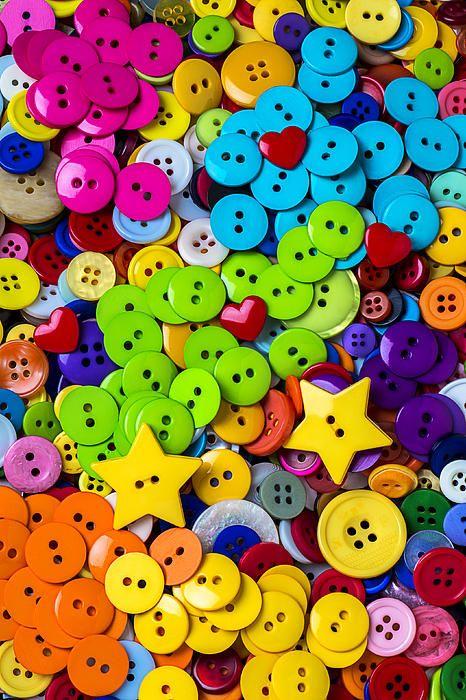 I ❤ COLOR MIX ❤ botones...