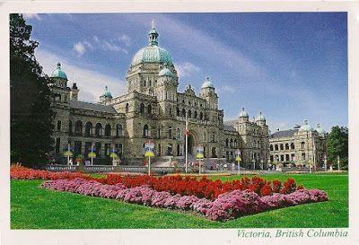 PARLIAMENT BUILDINGS, VICTORIA, BRITISH COLUMBIA, CANADA